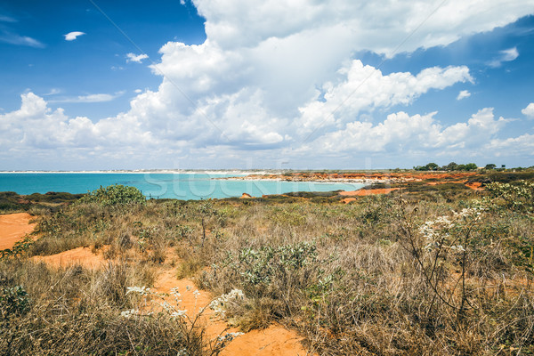 Australia obraz nice krajobraz wody charakter Zdjęcia stock © magann