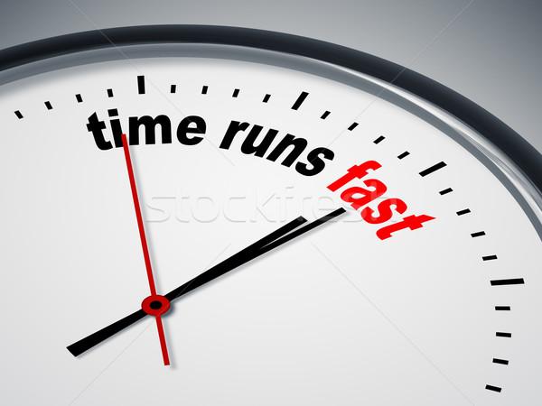 ストックフォト: 時間 · 高速 · 画像 · いい · クロック · ビジネス