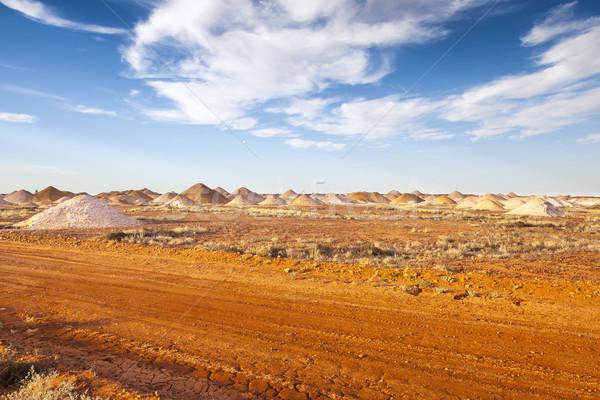 Imagem mineração vermelho parque abrir coala Foto stock © magann