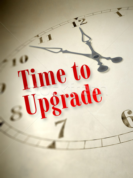 time to upgrade Stock photo © magann
