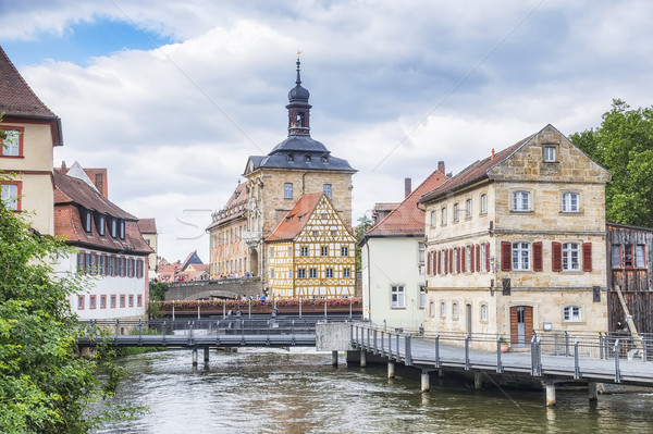 Old town hall in Bamberg Bavaria Stock photo © magann