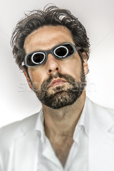 man with cool sun glasses Stock photo © magann