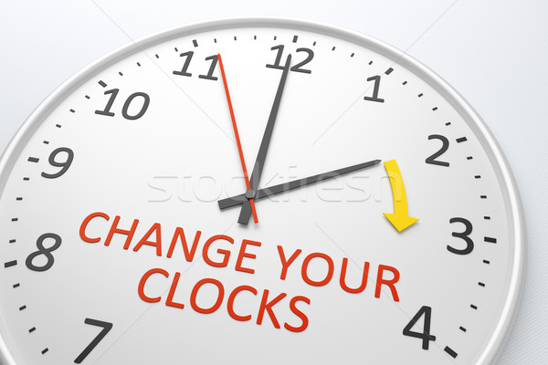 Change Your Clocks Stock photo © magann
