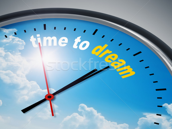 time to dream Stock photo © magann