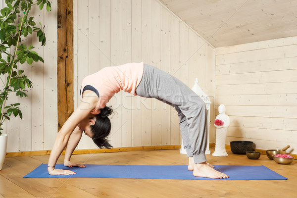 yoga woman  Stock photo © magann