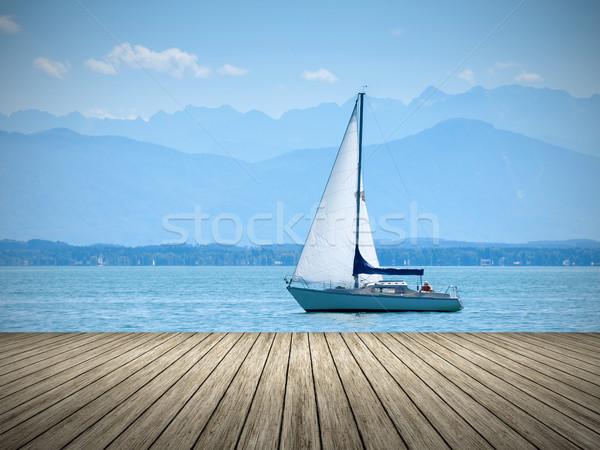 Starnberg Lake in Germany Stock photo © magann