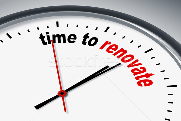 time to renew Stock photo © magann