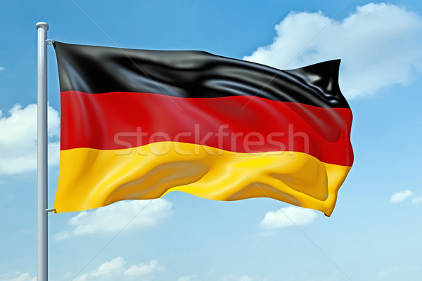 German flag Stock photo © magann