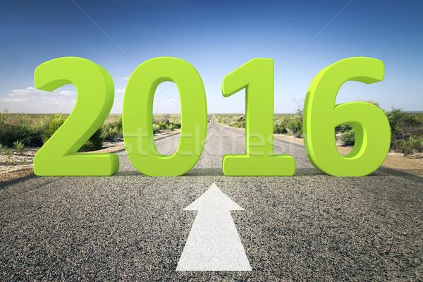 road to horizon 2016 Stock photo © magann