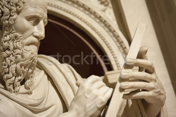 Apostle John in Loreto Italy Stock photo © magann