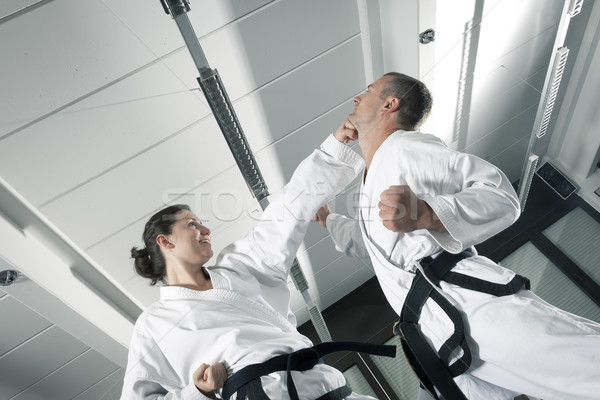martial arts masters Stock photo © magann