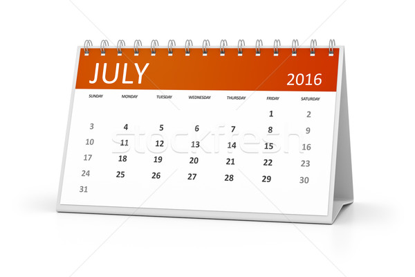 table calendar Stock photo © magann
