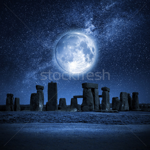 Stonehenge full moon Stock photo © magann