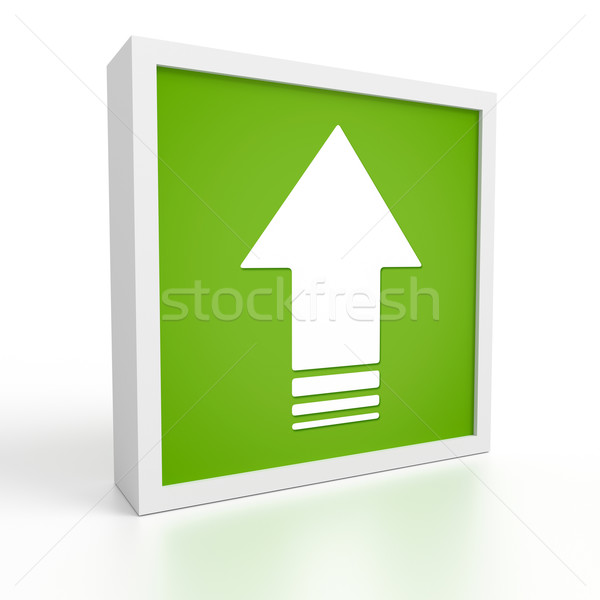upload symbol Stock photo © magann