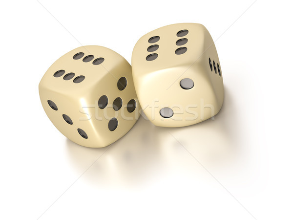 two dice Stock photo © magann
