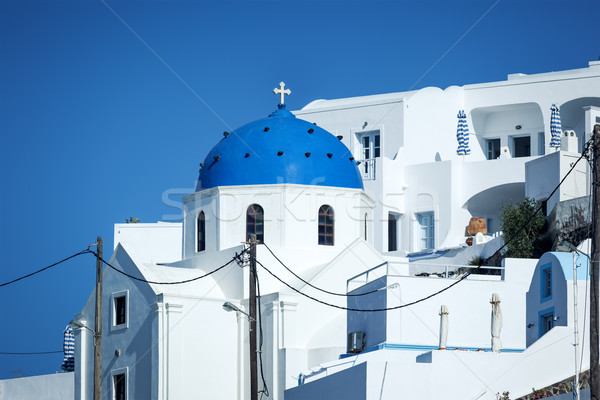 Santorini church Stock photo © magann