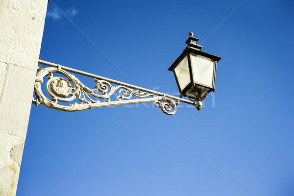 Ulicy świetle Sztokholm obraz Szwecja miasta Zdjęcia stock © magann