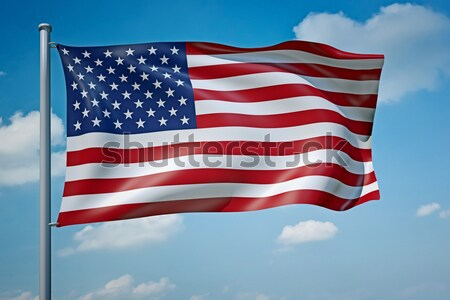 United States of America flag Stock photo © magann
