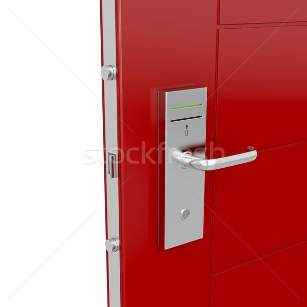 Keycard door Stock photo © magraphics