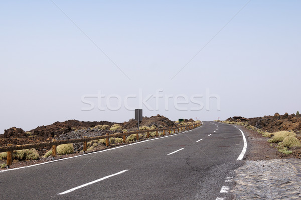Empty road in Tenerife Stock photo © magraphics