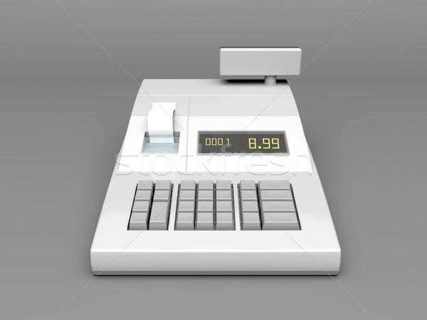 Cash register Stock photo © magraphics
