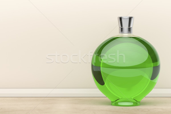 Green liqueur bottle Stock photo © magraphics