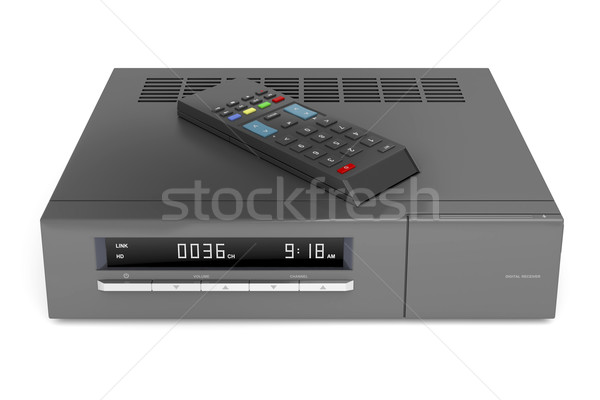 Digital satellite receiver Stock photo © magraphics