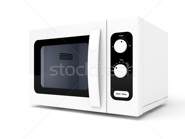 Microwave oven Stock photo © magraphics