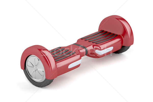 Red self-balancing scooter Stock photo © magraphics