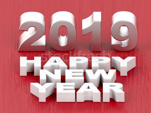 Happy New Year 2019 Stock photo © magraphics