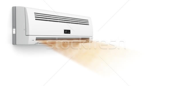 Air conditioner blowing hot air Stock photo © magraphics