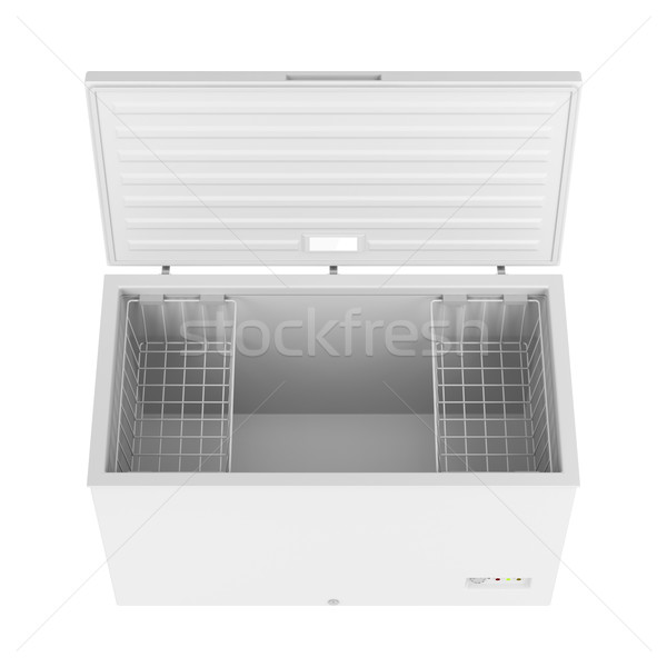 Open freezer Stock photo © magraphics