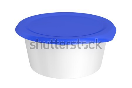 Round plastic packaging Stock photo © magraphics