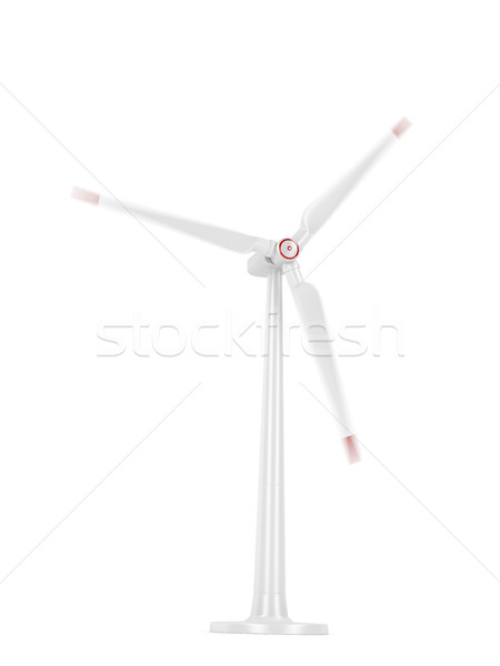 Spinning wind turbine Stock photo © magraphics