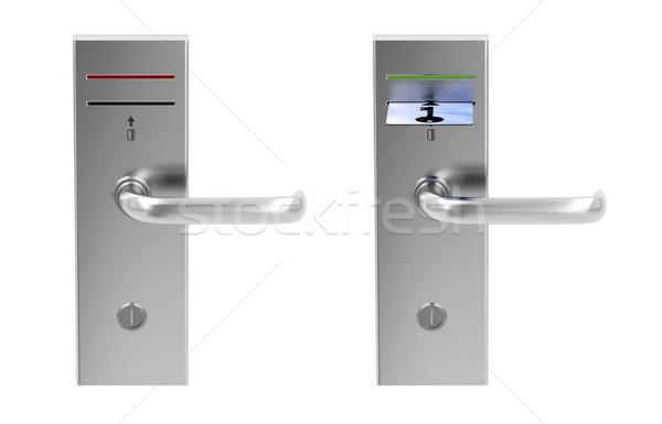 Keycard electronic locks Stock photo © magraphics