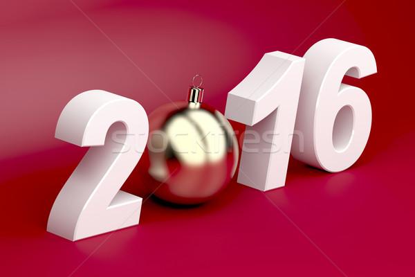 Happy new year 2016 Stock photo © magraphics