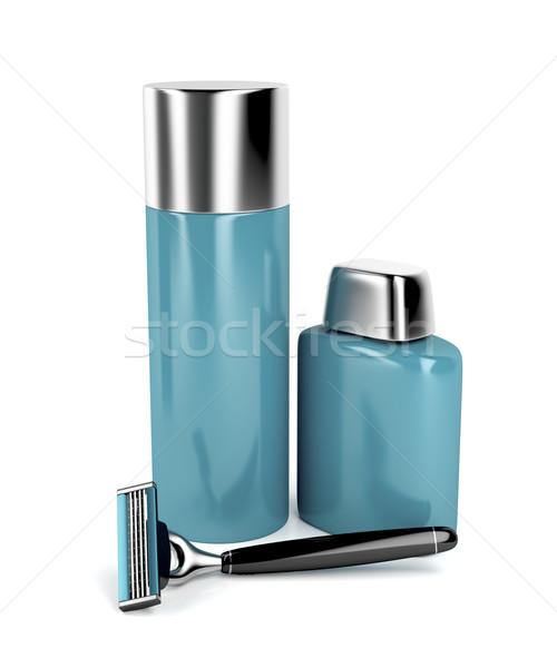Shaving equipment Stock photo © magraphics