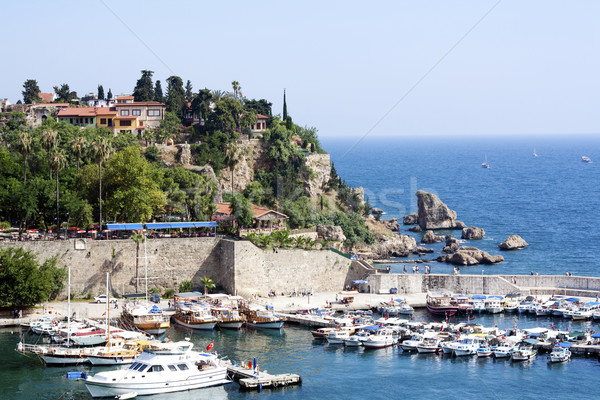 Antalya harbor Stock photo © magraphics