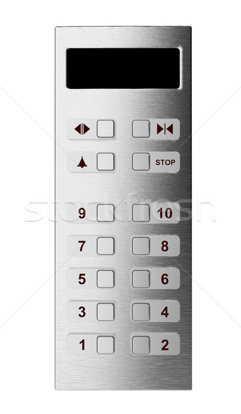 Elevator control panel Stock photo © magraphics