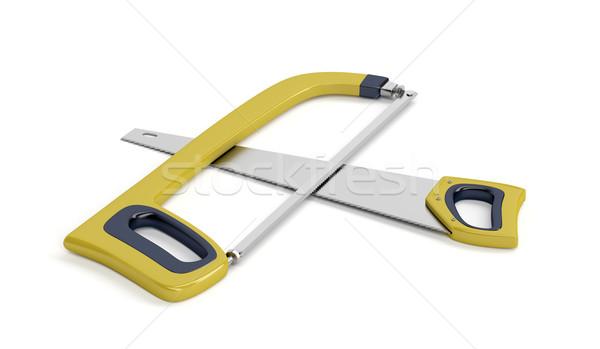 Hacksaw and hand saw Stock photo © magraphics