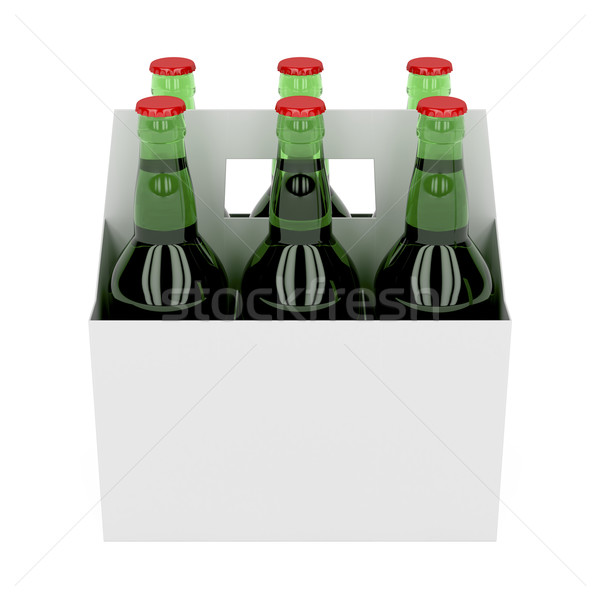 Beer bottles Stock photo © magraphics