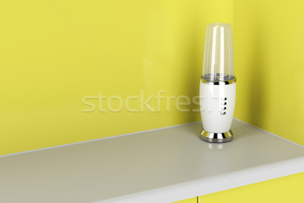Blender in the kitchen Stock photo © magraphics