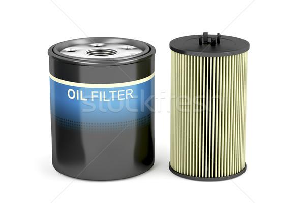 Patron olaj különböző autóipari autó teherautó Stock fotó © magraphics