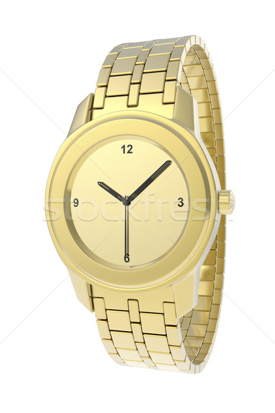 Gold watch Stock photo © magraphics