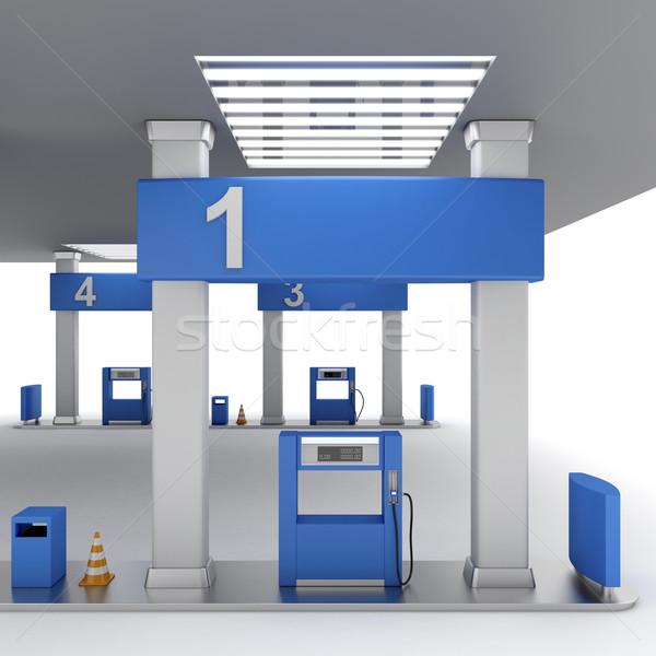 Fuel pump Stock photo © magraphics