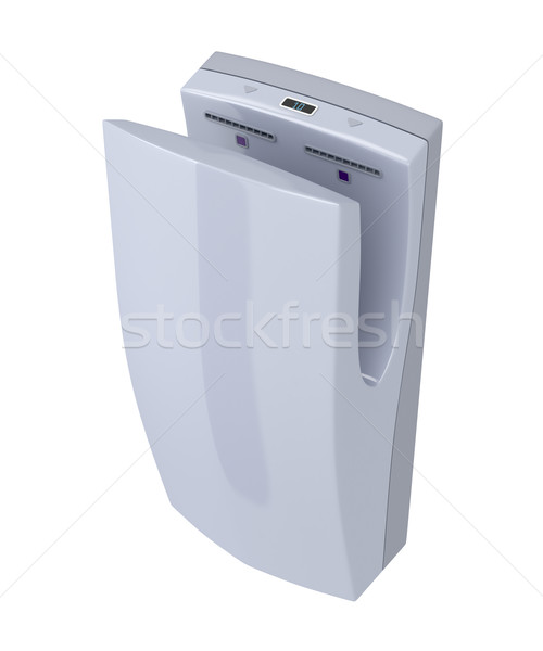 High speed hand dryer Stock photo © magraphics