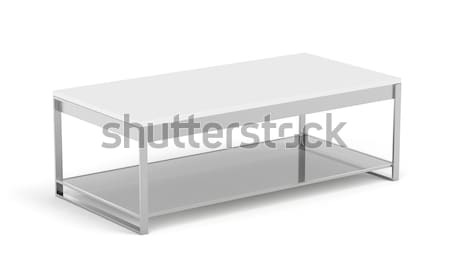 Modern coffee table Stock photo © magraphics