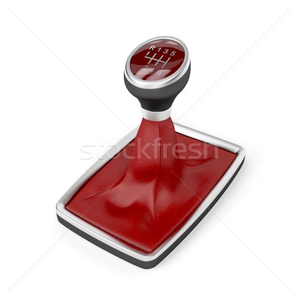 Gear stick Stock photo © magraphics