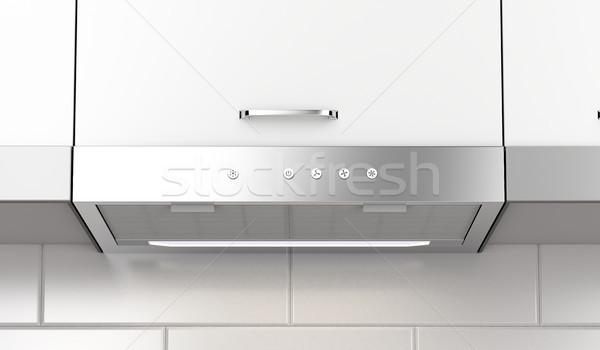 Modern extractor hood Stock photo © magraphics