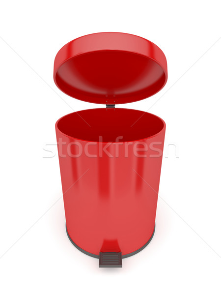 Open trash can Stock photo © magraphics